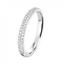Alliance diamant or blanc 1325.0027G