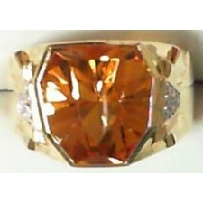 BAGUE CITRINE DIAMANTS BC2327CT/BTS