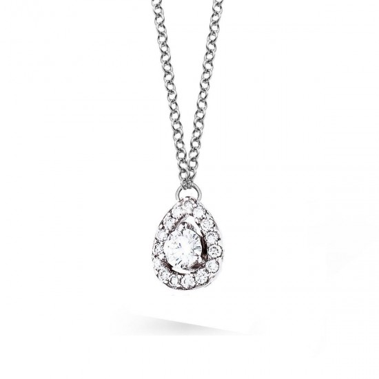 Collier en Or blanc et Diamants