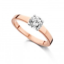 Solitaire or rose