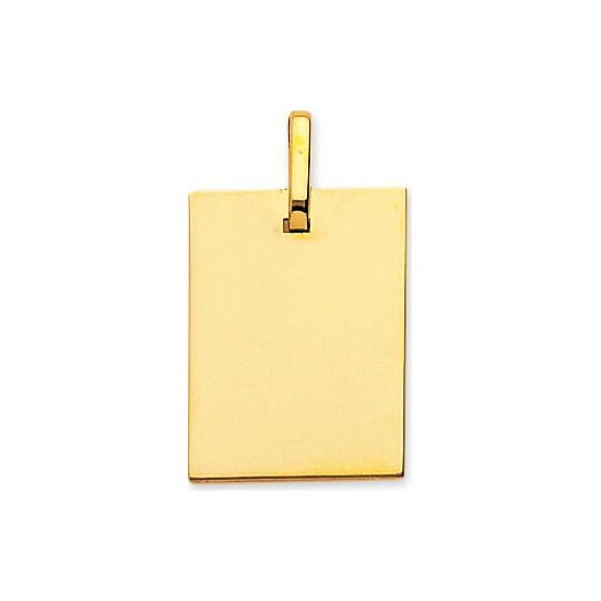 PLAQUE RECTANGLE PM