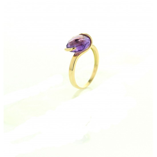 Bague AMETHYSTE COLLECTION FELINE
