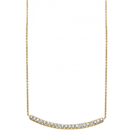 Collier ORJaune et diamants
