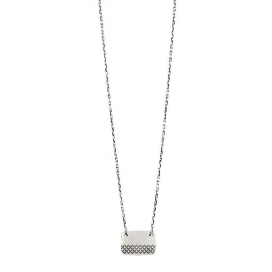 Collier argent mat - Murat Paris