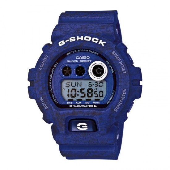 MONTRE CASIO G-SHOCK HEATHER BLEUE