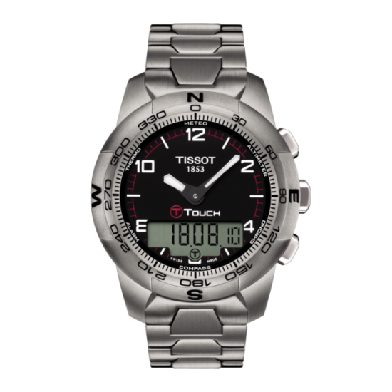 MONTRE T TOUCH II TITANE