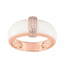 BAGUE CONFIDENCE OR ROSE 375