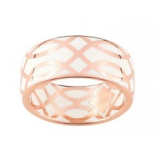 BAGUE LAQUE ARABESQUE OR ROSE 375