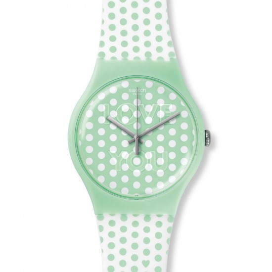 MONTRE SWATCH MINT LOVE YOU
