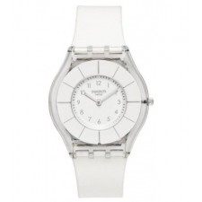 MONTRE SWATCH WHITE CLASSINESS