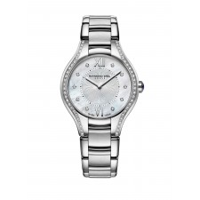 MONTRE R.WEIL NOEMIA NACRE ET DIAMANTS
