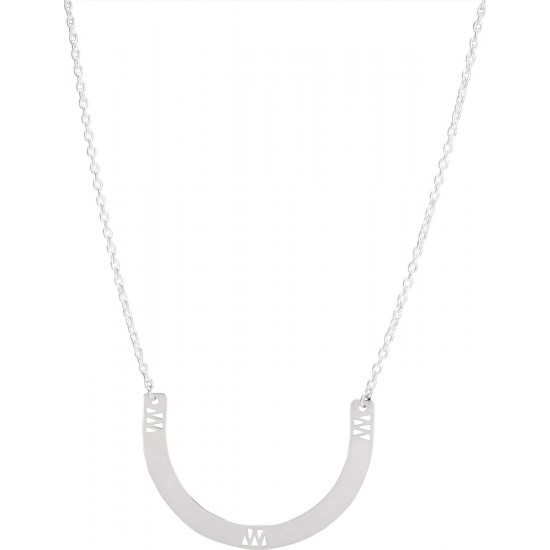 Collier FER A CHEVAL argent - Murat Paris