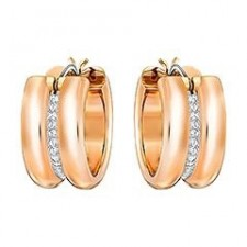 BO PERCEES SWAROVSKI HOOPS FURTHER